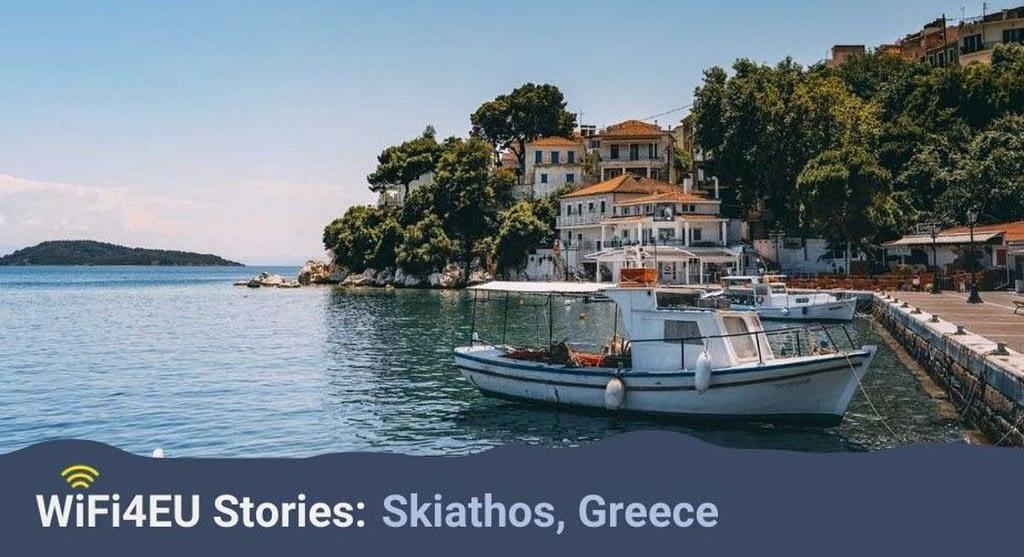 Skiathos, nova història WIFI4EU