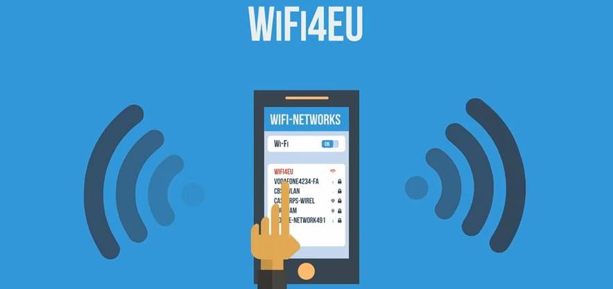 Portal cautiu WIFI4EU